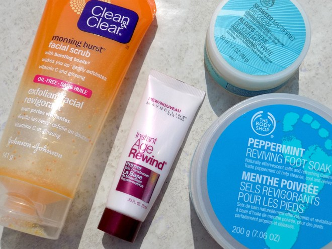June Empties Clean and Clear Maybelline The Body Shop