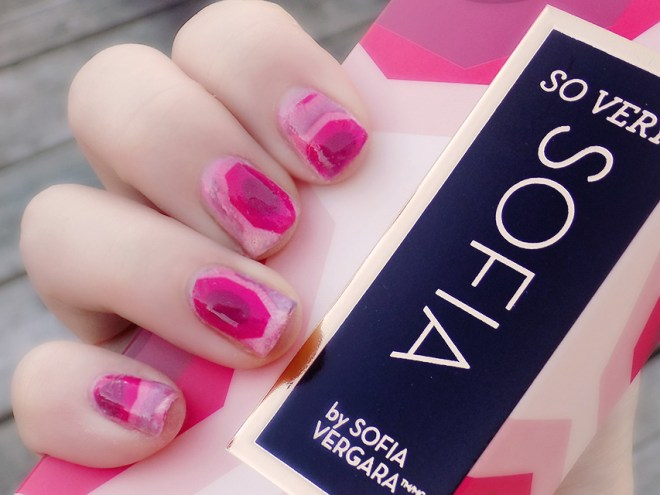 Avon So Very Sofia DIY Waterslide Decal Nails Full Colour Swatch Tutorial