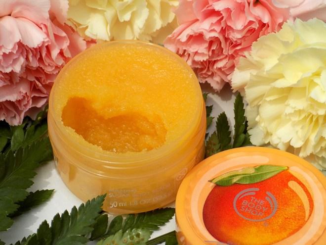 The Body Shop Mango Sugar Body Scrub Review