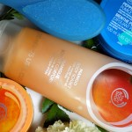 The Body Shop Summer Essentials Mango Sorbet - Mango Sugar Scrub - Peppermint Pumice Foot Scrub