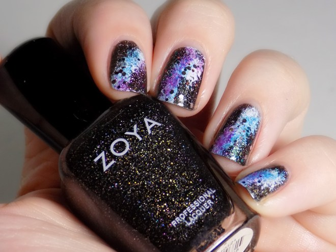 31DC2016 Day 19 - Galaxy Nails Swatch Indoor - Polishes Used