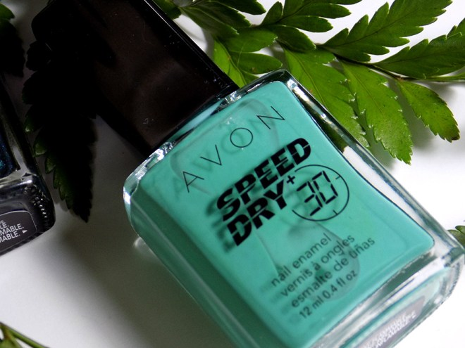 Avon Fall Trends - Speed Dry 30 Turquoise Pop Nail Polish - Green Nail Polishes