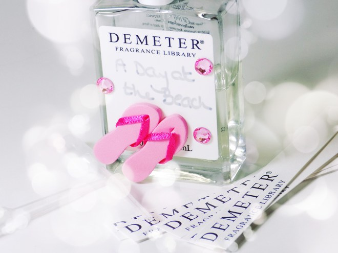 Demeter Fragrance Foolproof Blending Kit Review - A Day at the Beach Custom Fragrance
