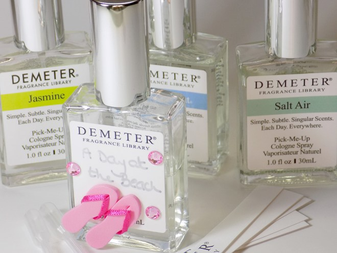 Demeter Fragrance Foolproof Blending Kit Review - A Day at the Beach