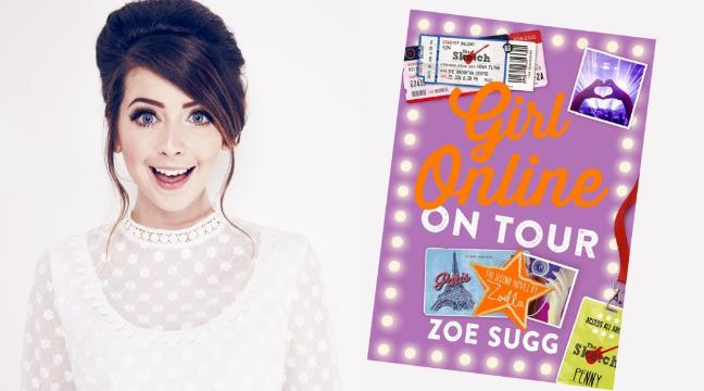Girl Online On Tour Zoella Book Giveaway & Fizz Bar Review