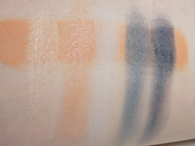 Quo Fall Collection Clean Sweep Eyeshadow Palette - Swatches Bottom Row