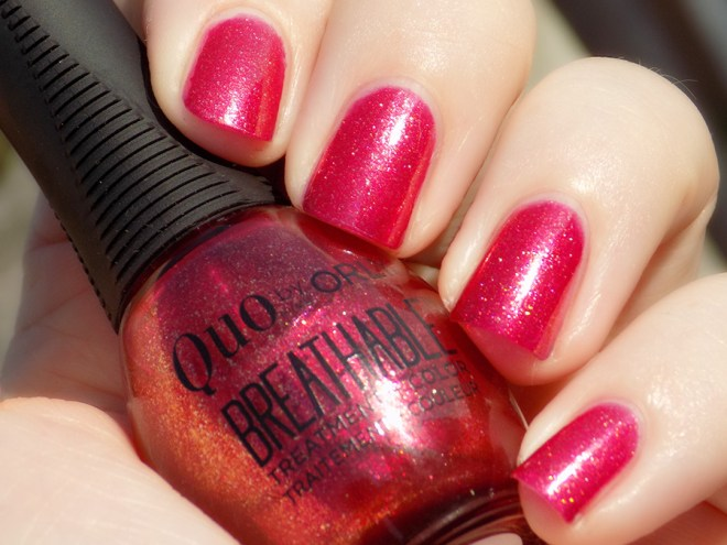 Quo by Orly Breathable Stronger Than Ever Swatch