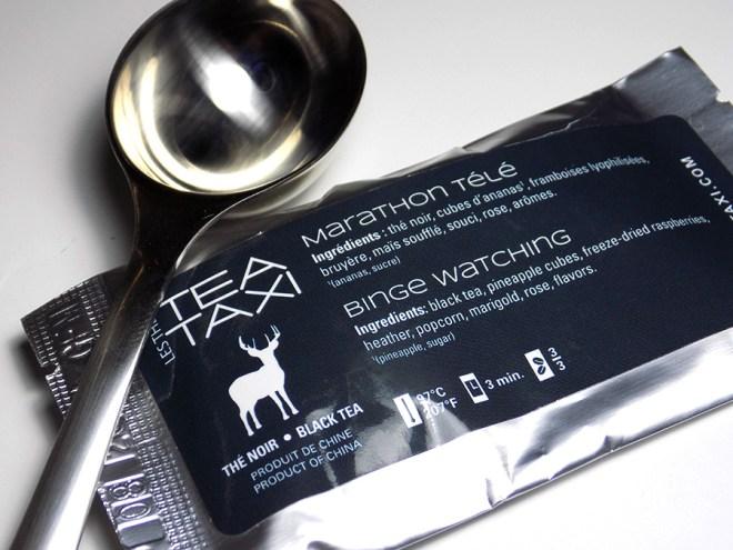 Tea Taxi Generation Envelope Binge Watching - Ingredients