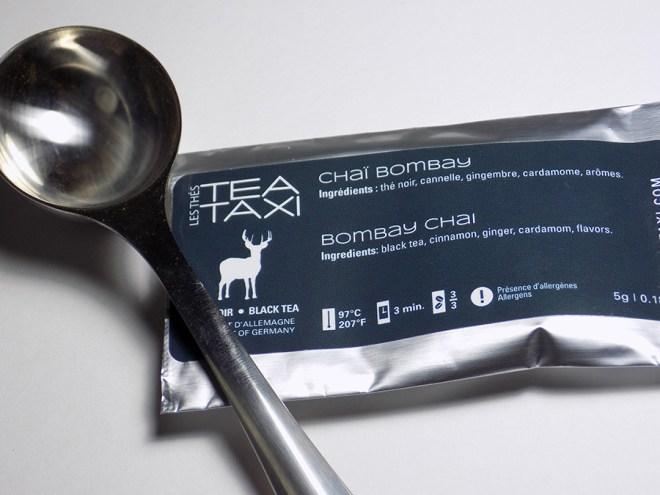 Tea Taxi Subscription Sample - Bombay Chai Tea Packaging