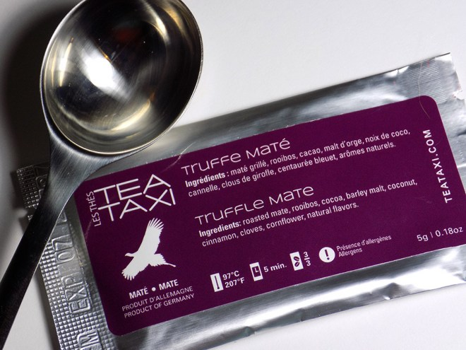 Tea Taxi Truffle Mate Sample - Packaging