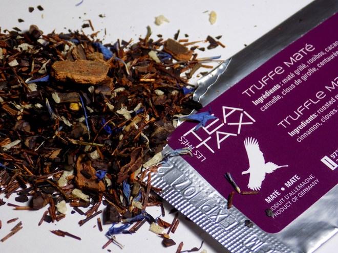Tea Taxi Truffle Mate Sample