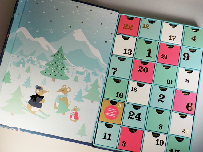 2016 DavidsTea Advent Calendar - Open Packaging