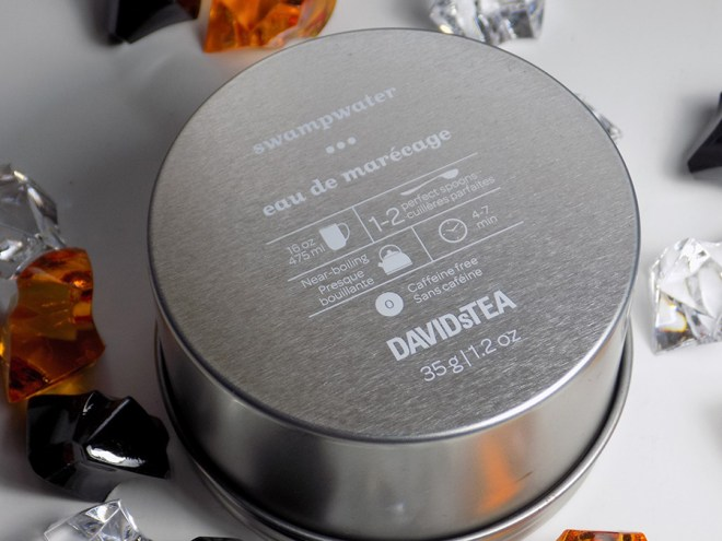 DavidsTea Halloween Teas 2016 - Davids Tea Swamp Water Loose Tea