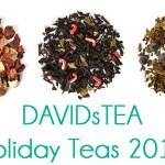 DAVIDsTEA Holiday Teas Launching November 15th