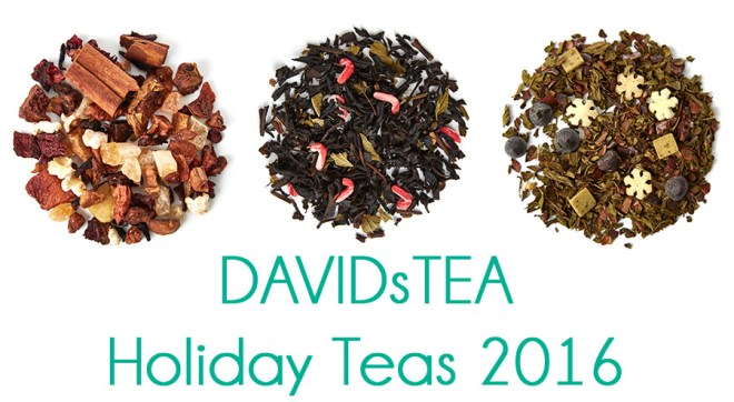DavidsTea Holiday Teas 2016 Sneak Peek