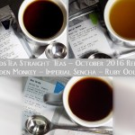 DavidsTea Traditional / Straight Teas October 2016 - Golden Monkey Black Tea Review - Ruby Oolong Tea Review - Imperial Sencha Tea Review - Davids Tea Reviews Canada
