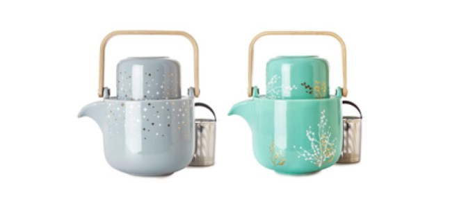 DavidsTea Winter Collection - Element Teapot for One Set