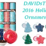 DAVIDsTEA Winter Collection Ornaments