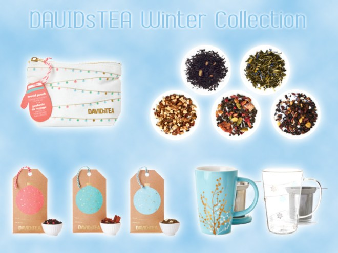 DavidsTea Winter Collection