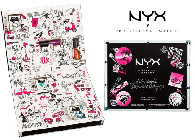 NYX Cosmetics Canada Advent Calendar 2016