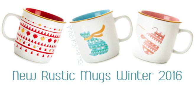 New DavidsTea Winter Collection Rustic Mugs