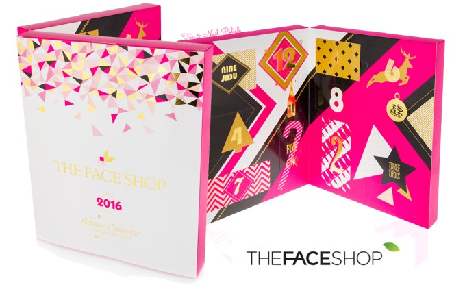THEFACESHOP Advent Calendar 2016 Canada