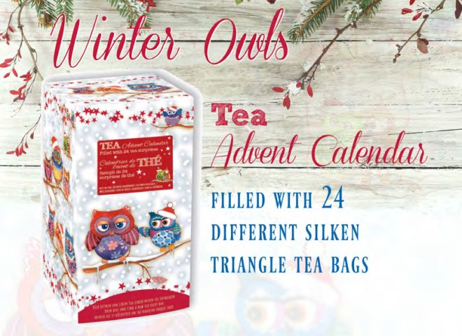 Tea Butler Canada Tea Advent Calendar 2016