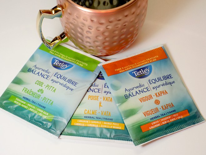 Tetley Ayurvedic Balance - Cool Poise and Vigor Tea Reviews