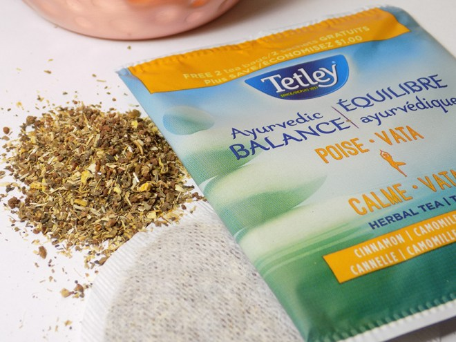Tetley Ayurvedic Balance - Poise Review with Loose Tea