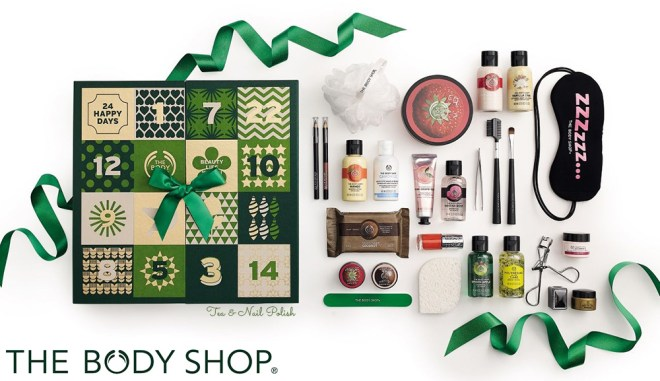 The Body Shop Canada Beauty Advent Calendar 2016