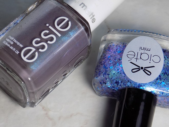 Ciate Risky Business over Essie Coat Couture Review