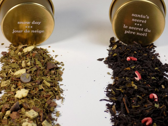 DavidsTea Snow Day vs Santa Secret - Which Is Best Review - Loose Teas