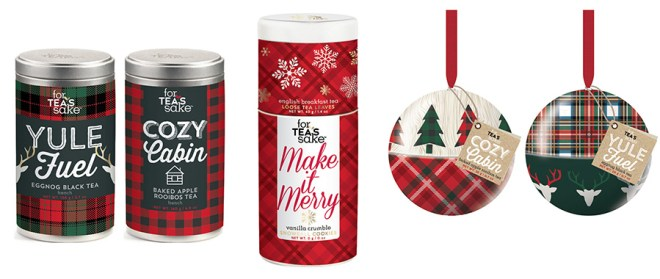 For Tea's Sake Holiday 2016 Tea Gift Sets -Yule Fuel, Cozy Cabin, Make It Merry - Chapters-Indigo