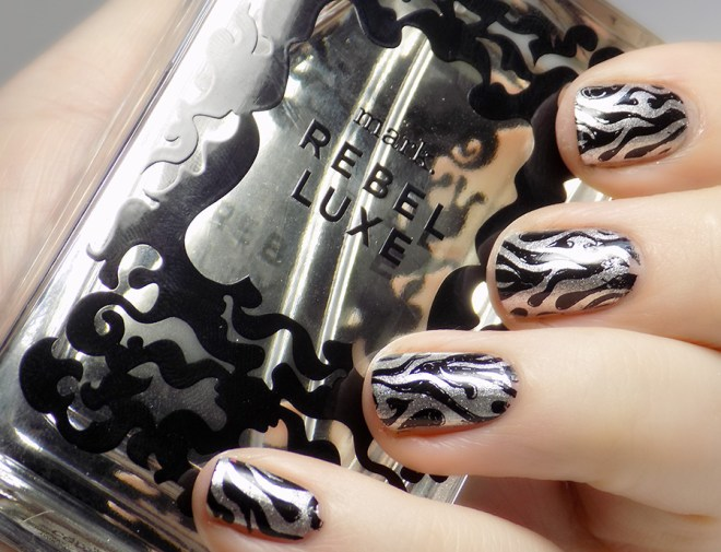 Mark by Avon Rebel Luxe Fragrance - Matching Nail Art
