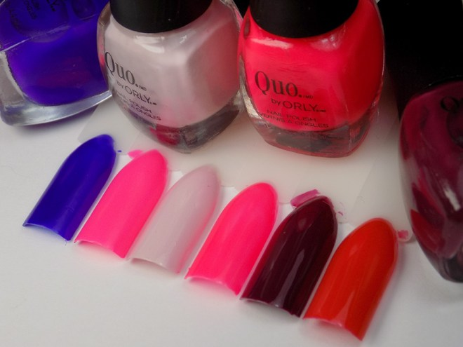 Quo by Orly The Best of the Best Collection Swatches