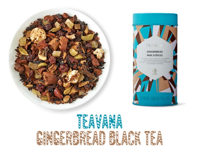 Teavana Holiday Collection 2016 Gingerbread Black Tea