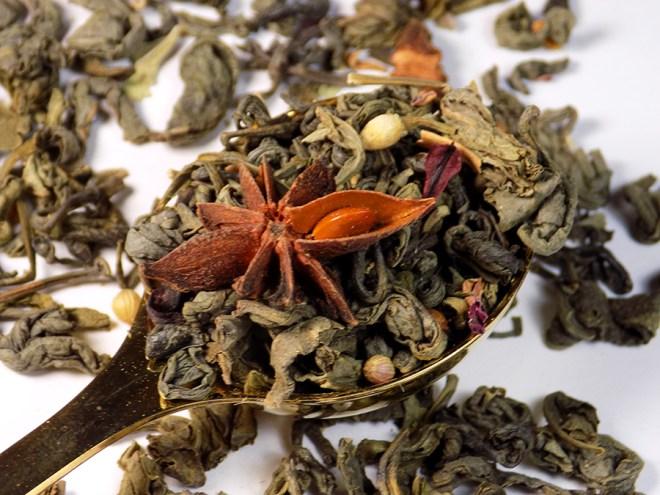 Ladida IWC Hamilton Green Tea Floral Blend Review - Loose Tea