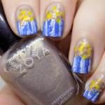 National Popcorn Day Nails