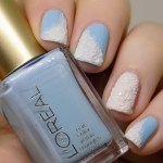 Snowy Nails with China Glaze There's Snow One Like You