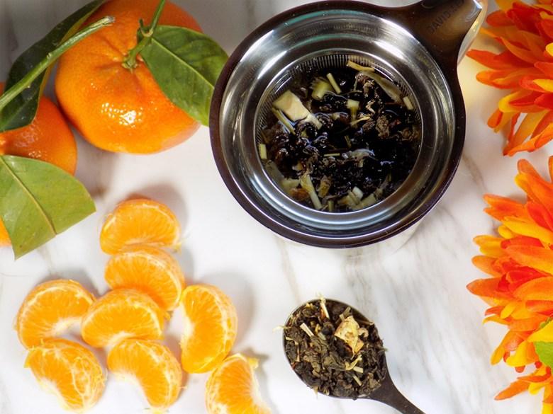 Bulk Barn Oolong Orange Tea Review - Steeping Loose Tea
