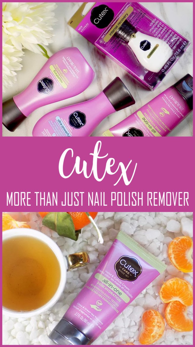 Cutex - More Than Just Nail Polish Remover - Treatments - Hand Cream - New for 2017