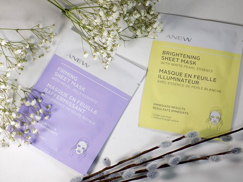 Avon Anew Sheet Masks - Firming and Brightening