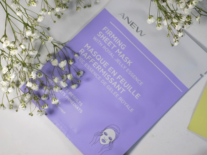 Avon Anew Sheet Masks - Firming with Royal Jelly Essence