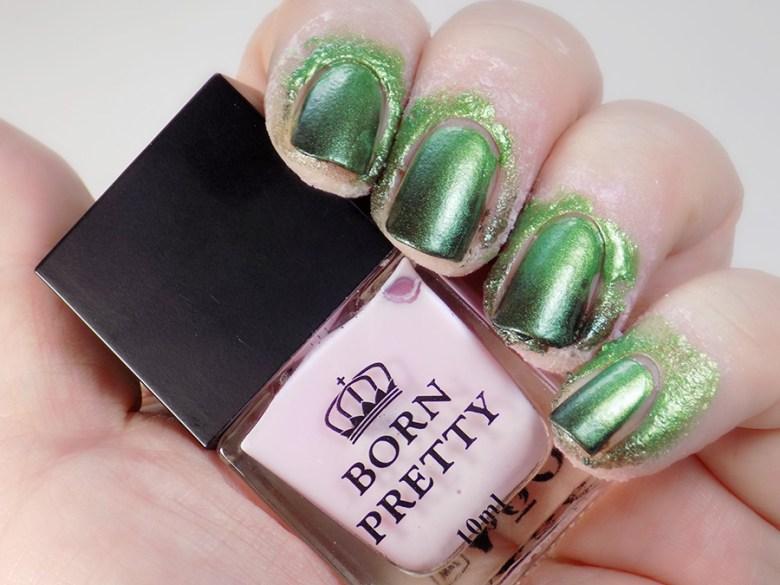 Born Pretty Odor Free Latex Cuticle Guard in Pink-Purple - Gradient Nails