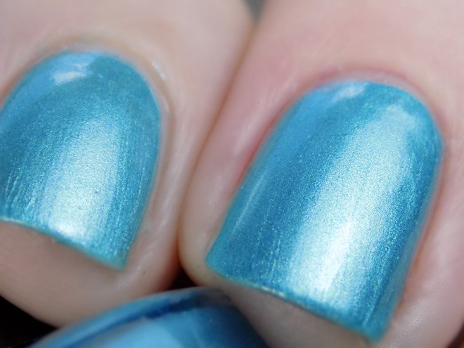 Joy and Polish Just Blue-tiful - Macro Swatch