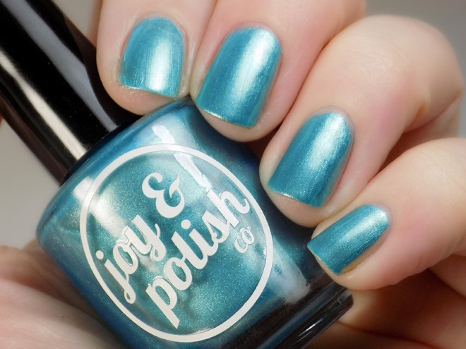 Joy and Polish Just Blue-tiful - Swatch