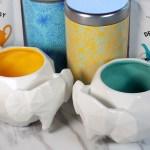 Avon Elephant Mugs, Tea Tins and Tealish tea