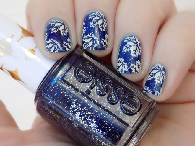 Toronto Maple Leafs Playoffs Nail Art - Tea & Nail Polish