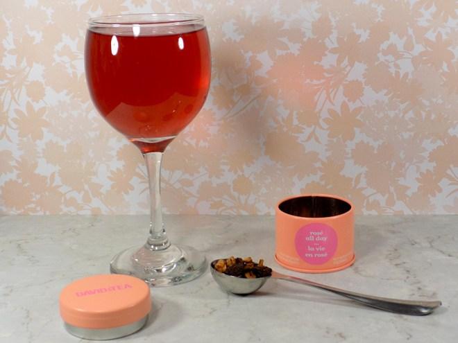 DavidsTea  Rosé All Day Tea Review - 2017 Davids Tea Cocktail Collection Tea Review