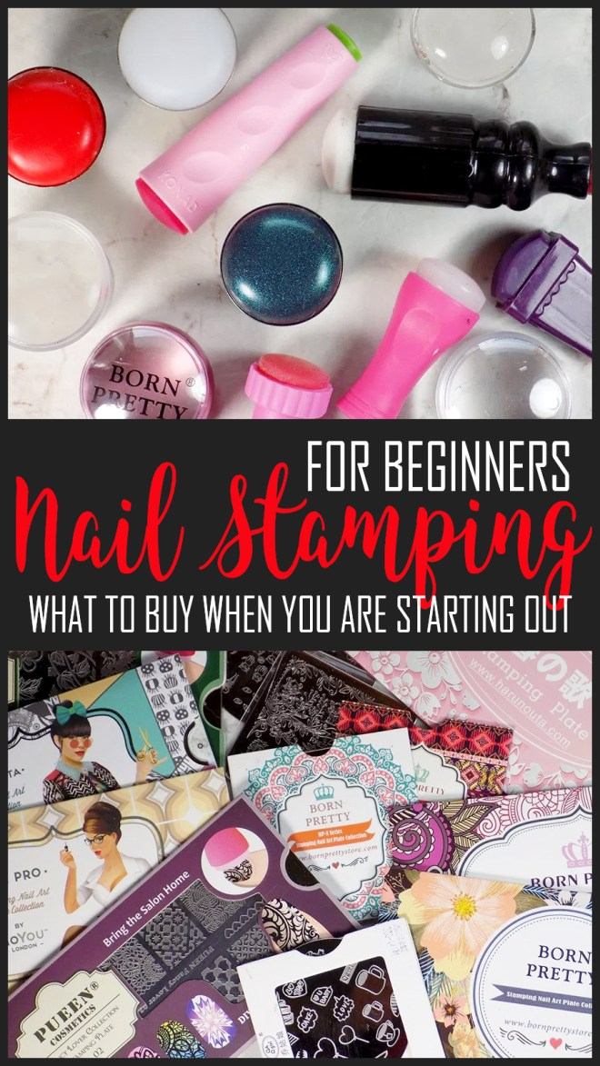 Nail Stamping Tools For Beginners - Nail Stamping Kits - How To Start Nail Stamping